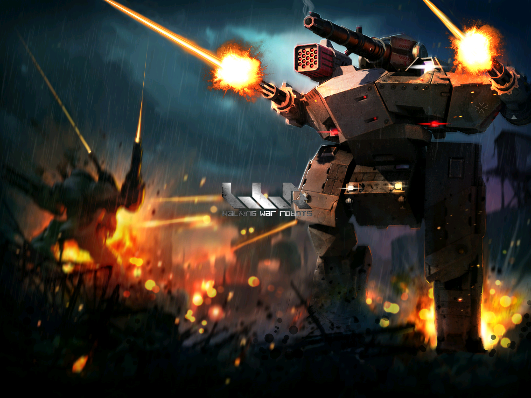 Walking War Robots: Live. Die. Repeat. Fun. Week 1.